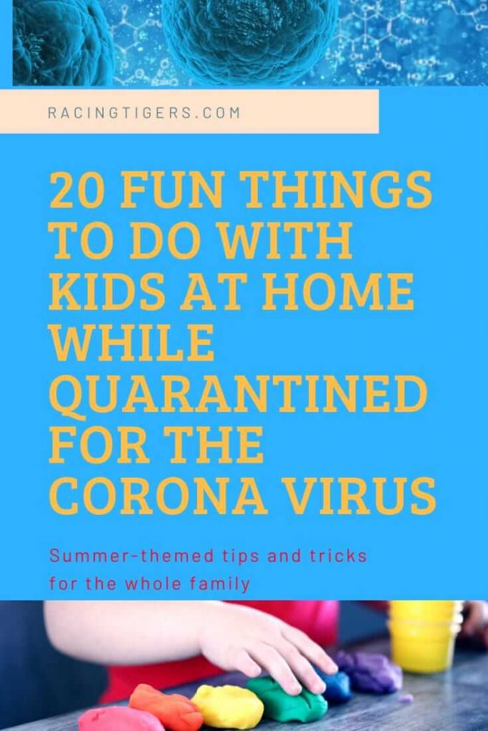 self-isolation for the Coronavirus, Fun things to do with kids, quarantined for the Coronavirus, #Coronavirus #coronasurvivalguide #coronasurvivaltips #moneytipsduringapandemic #frugaltipsduringcorona #moneytipsduringemergency #survivaltipsduringcorona #budgetingmom #budgetingtips